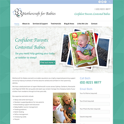 Mothercraft for Babies
